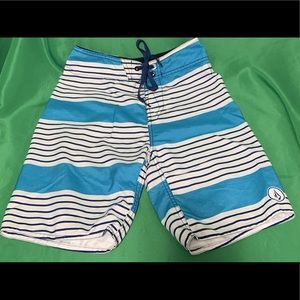 Boys Volcom Surf Board Shorts Size 8